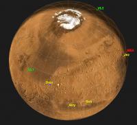 Mars (northern hemisphere)