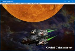 Orbital Calculator v2.0.6